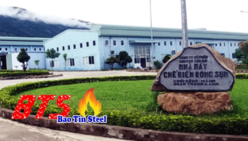 Công trình cấp nước sinh hoạt và sản xuất rau câu Sơn Hải