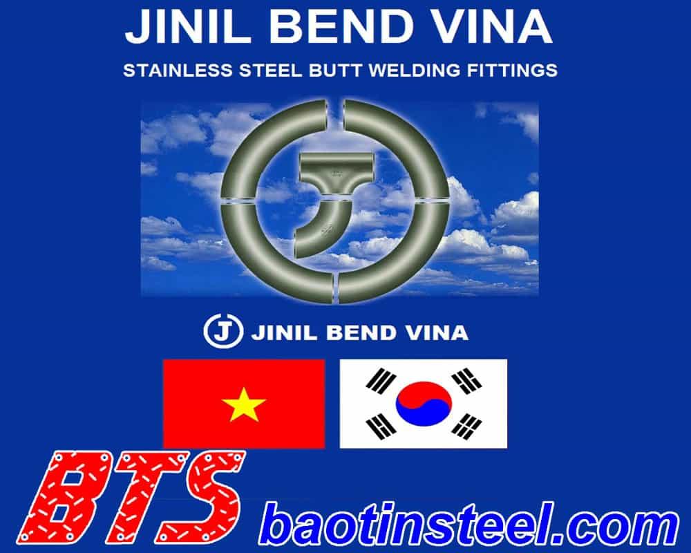 bảng giá phụ kiện jinil bend vina
