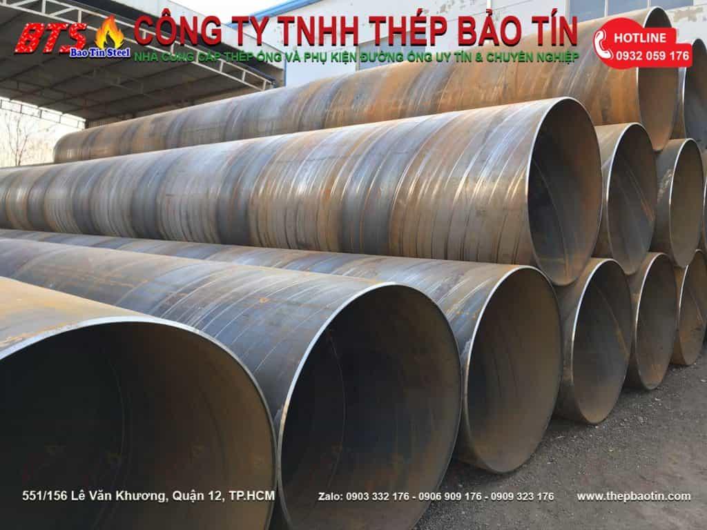 ống thép hàn xoắn đường kính lớn tại tphcm