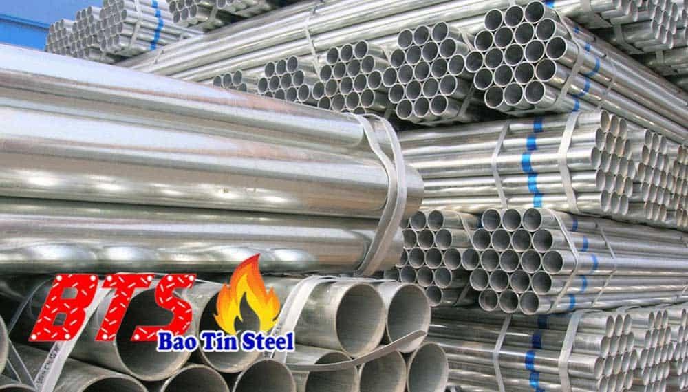 ống thép mạ kẽm Bảo Tín
