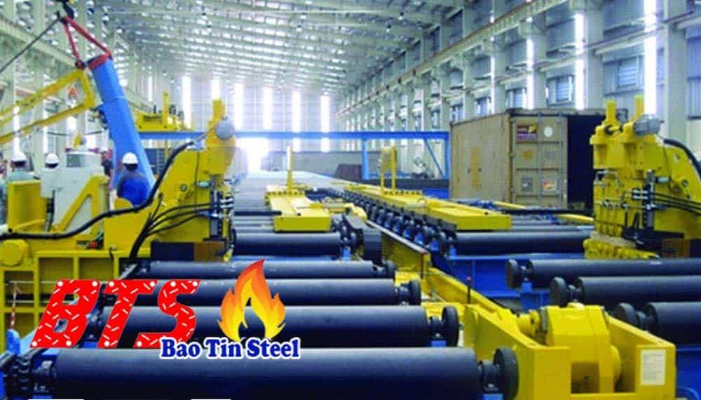 Sản xuất ống thép đen dân dụng