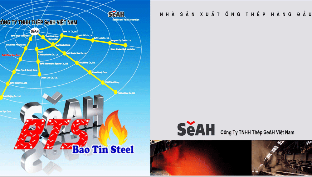 catalog ống thép SaAH