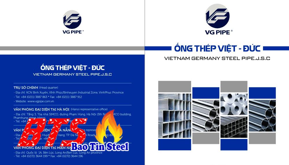catalog Thép Việt Đức