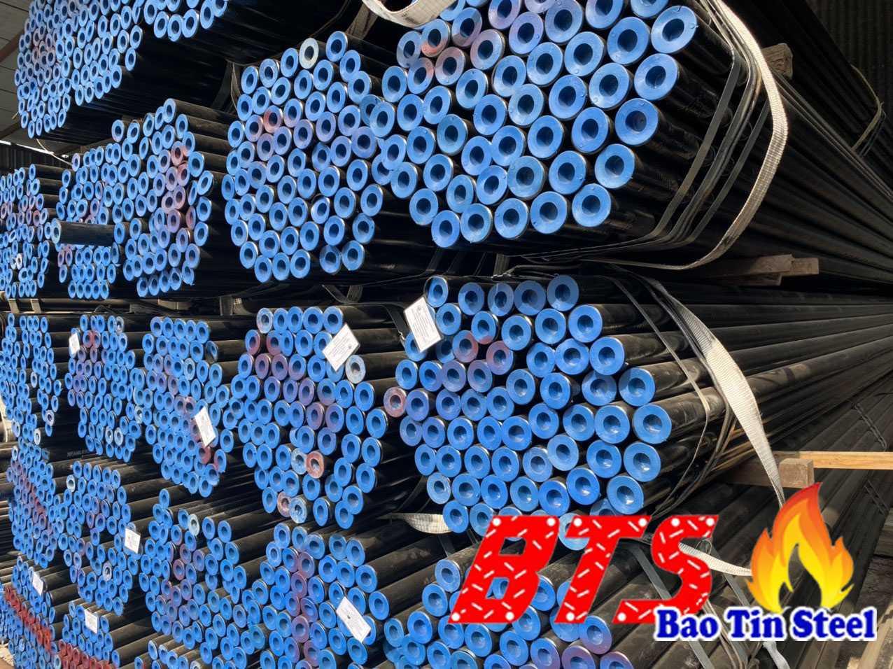 giá ống thép đúc nhập khẩu từ Trung Quốc