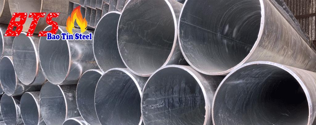 ống thép mạ kẽm cỡ lớn
