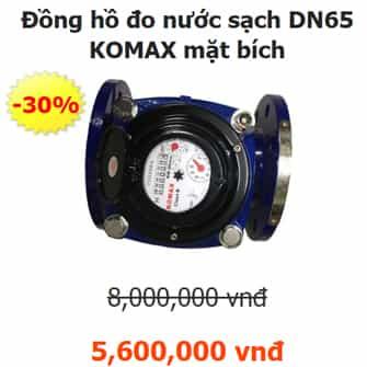 đồng hồ nước sạch Komax