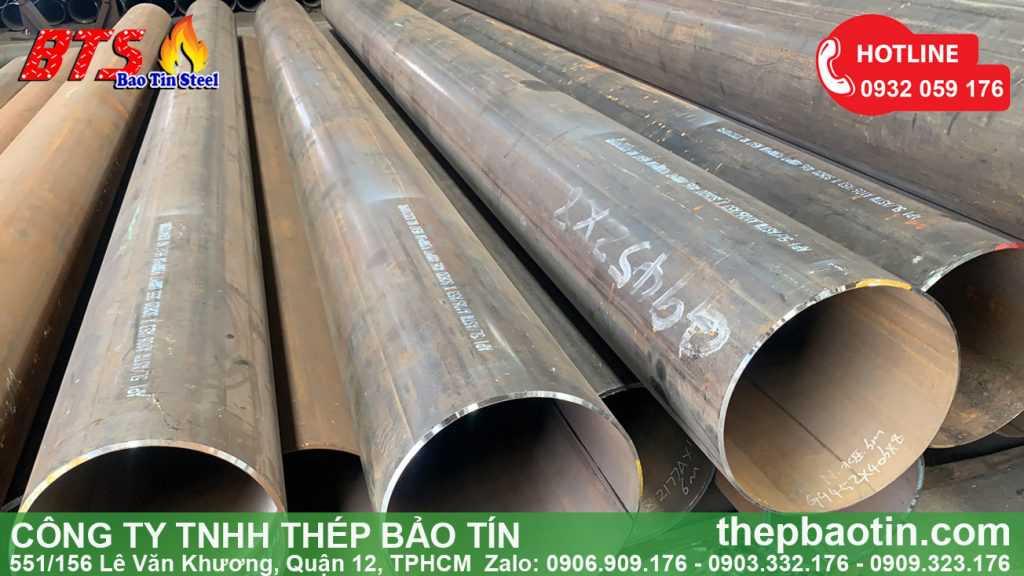 ống thép đường kính lớn nhập khẩu