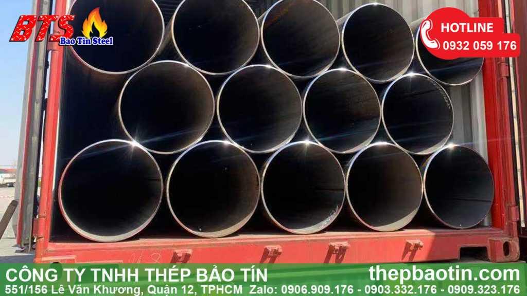 ống thép cỡ lớn nhập khẩu Bảo Tín